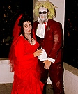 Beetlejuice and Lydia Couple Costume Idea