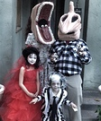 Classic movie costumes - Beetlejuice Family Costume