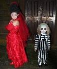 Beetlejuice & Lydia Deetz Homemade Costume
