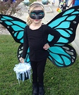Big Winged Butterfly Homemade Costume