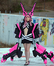 Black Rock Shooter XNFE Homemade Costume