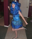 Homemade Blue Butterfly costume