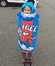 Blue Icee Costume