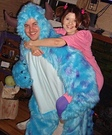 Boo and Sully from Monsters Inc Costume
