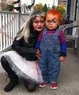 Bride of Chucky and Chucky Homemade Costume