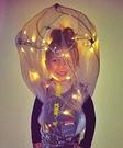 Bright Idea: Our Little Lightbulb Halloween Costume