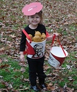 Bucket of KFC Chicken Homemade Costume