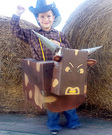 Bucking Bull Homemade Costume