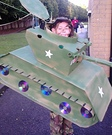 Homemade Tank Costume