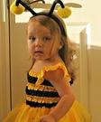 Homemade Bumble Bee Costume