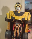 Bumblebee Transformer Costume for Boys