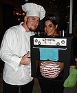 Cook Chef and Bun in the Oven Costume