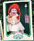 Homemade Cabbage Patch Doll Costume