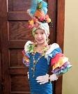 Calypso Dancer Homemade Costume