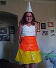Candy Corn Girl Costume