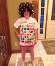 Candy Crush Homemade Costume
