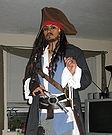 Pyrate Capt Jack Sparrow Costume