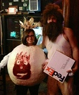 DIY Cast Away Couple Costumes