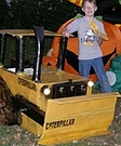 Homemade Caterpillar Costume