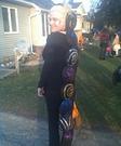 Homemade Caterpillar costume