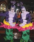 Caterpillars Sitting on Flowers Illusion Costumes