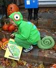 Animal costume ideas for kids - Chameleon Halloween Costume