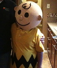 Charlie Brown Costume (Paper Mache)