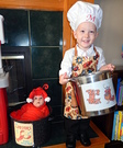 Chef and Lobster Kids Costume