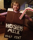 Chocolate Milk Halloween Costume