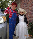Chucky and Bride of Chucky Homemade Costume