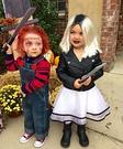 Chucky and Chucky's Bride Costume