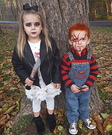 Chucky and the Bride Kids Costume
