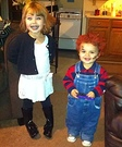 Chucky & Bride Homemade Costumes