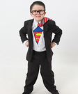 Homemade Clark Kent Costume