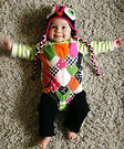 Colorful Owl Baby Costume