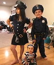Cops and Convict Kids Costume