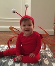 Crabby Baby Costume