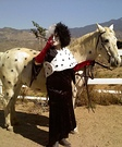 Cruella de Ville and Puppy Horse Costume