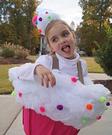 Cupcake Girl Homemade Costume