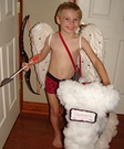 Homemade Cupid Costume for Boys