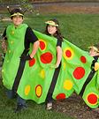 Homemade Caterpillar Costume for Kids