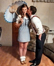 Movie couples costumes - Darla and Alfalfa Couple