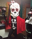 Day of the Dead Bobblehead Halloween Costume