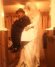 Dead Bride Carrying Dead Groom in a Box