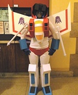 Homemade Decepticon Starscream Costume