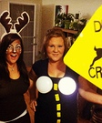 Deer in Headlights Homemade Costume