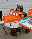 Disney Planes Dusty Crophopper Homemade Costume