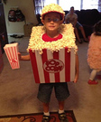 Popcorn DIY Halloween Costume