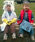 Doc Brown & Marty McFly Homemade Costume