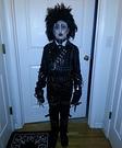 Edward Scissor Hands Costume for a Boy